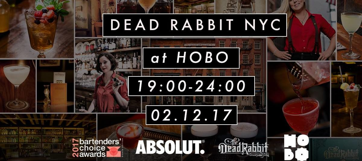 Dead Rabbit NYC Guest Bartending at Hobo