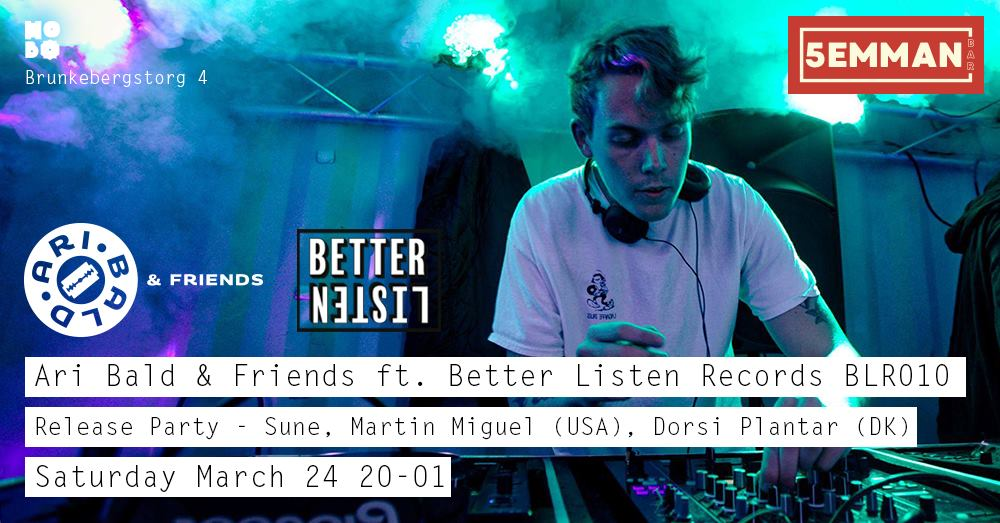 24 Better Listen Records Release Party / BLR Label Night
