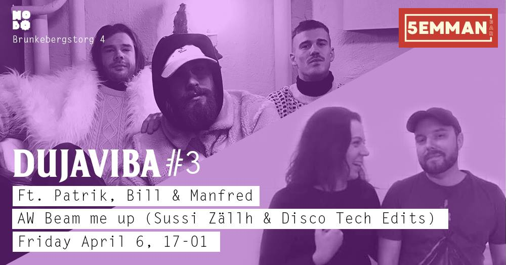 Dujaviba#3 +AW Beam me up (Disco Tech Edits & Sussi Zällh)