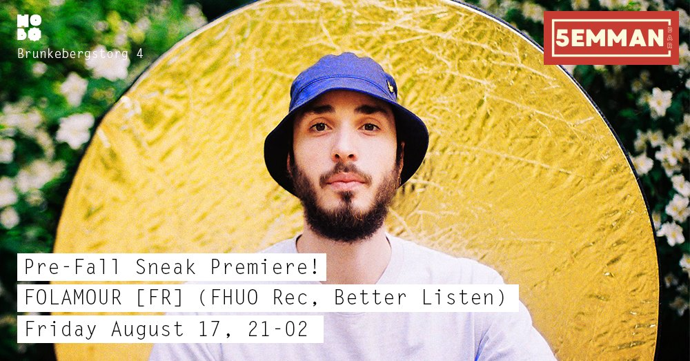 Pre-Fall Sneak Premiere Ft. Folamour, [FR] (FHUO records)