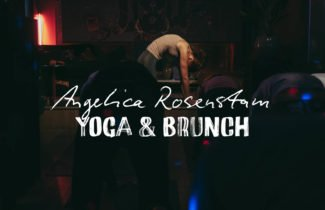 Brunch + yoga with Angelica Rosenstam