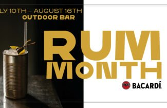 Rum month at Hobo